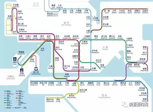 香港仁和体检中心路线